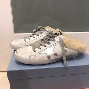 Golden Goose Superstar Sabot sneaker NWT